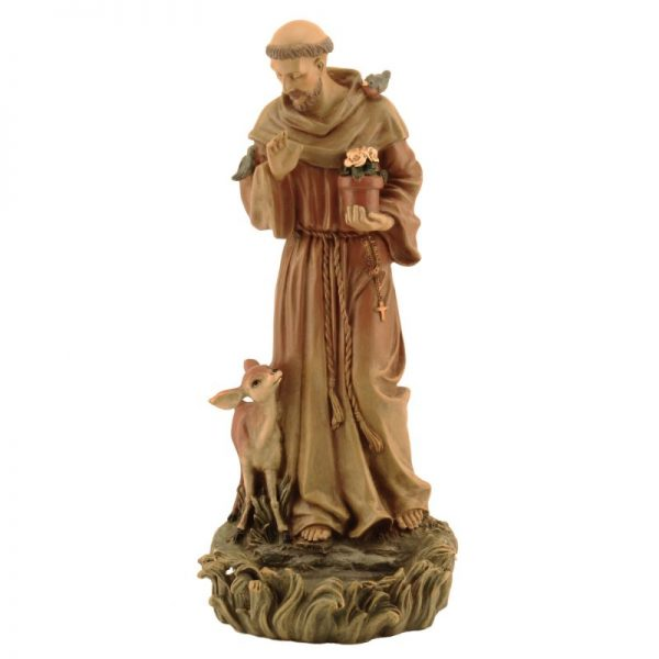 Catholic Statue Photo — St. Francis of Assisi — Saved Friday 9-1-2017
