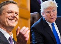 Charlie Baker and Donald Trump Photo — I — James P. Freeman — Saved Monday 9-18-2017