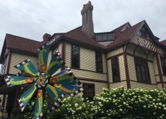 Highfield Estate Photo — Colorful Circular Thing — Diane Kilgore Photo — Saved Sunday 9-17-2017