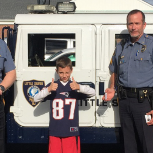 Kid Entrepreneur Starts Company To Help Cops. Let's Tell The World.