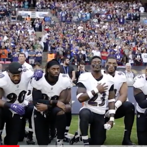 Kneeling During Anthem, Good; Kneeling To Pray, Bad