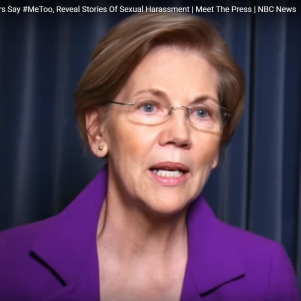 Liz Warren's Dueling #MeToo Recollections of Sexual Assault Draw Skepticism