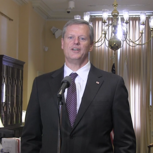 Governor Baker's Campaign Gets Quick Backing from Fiscal Watchdog