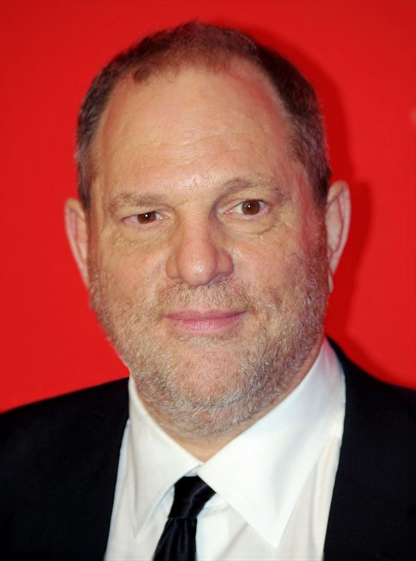 Harvey Weinstein Photo — Headshot With Red Background — Saved Thursday 11-2-2017