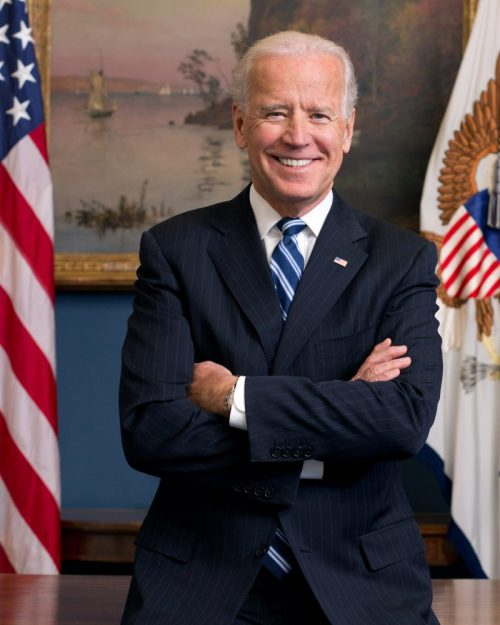 Biden Echoes Trump, Aiming at Rioters, Xi, Bezos
