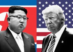 Kim Jong-un and Donald Trump Photo — Saved Tuesday 11-7-2017