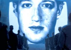 Mark Zuckerberg 1984 Big Screen Image — Saved Tuesday 11-28-2017