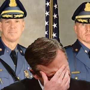 "Baker Says Top State Police Brass Left Posts Amid 'TrooperGate' Fallout ""On Their Own"""