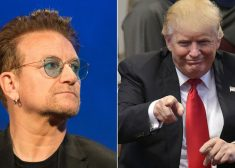 Thought Leaders Photo — Bono and Donald Trump — Ideas III. — for James P. Freeman Column — Saved Wednesday 11-15-2017