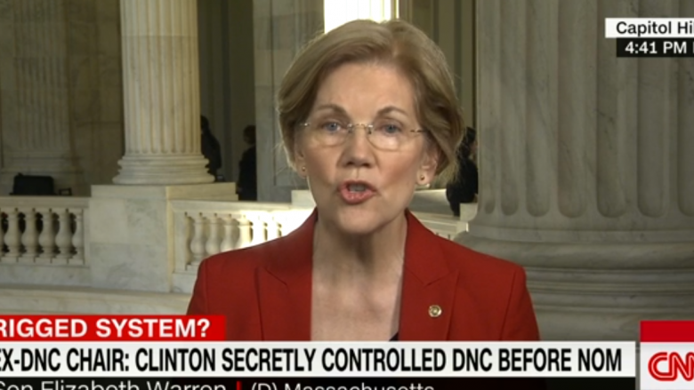 Elizabeth Warren: The Democratic Nomination Process Was Rigged