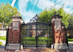 Brown University Gate Photo — Attribution? — Saved Friday 12-15-2017