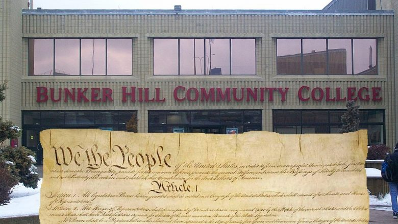 U S Constitution Wins Appeal At Bunker Hill Community College What