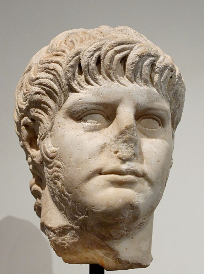 Nero Bust Photo — Flattened Nose — Saved Sunday 12-10-2017