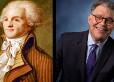 Robespierre and Franken Image — Maximilien Robespierre — Al Franken — Image Made By Patrick J. McDonald — Saved Sunday 12-10-2017