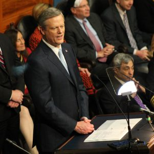 Gov. Baker Reviews Work, Touts Investment Plans In SOTC Address