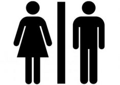 Woman and Man Stick Figures Image — Sex — Gender — Saved Thursday 1-18-2018
