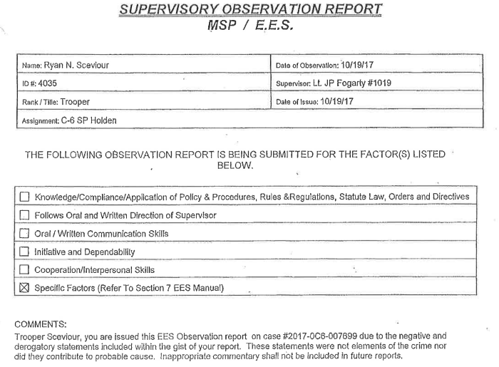 Ex-State Police Superintendent Blasts Trooper In Lawsuit