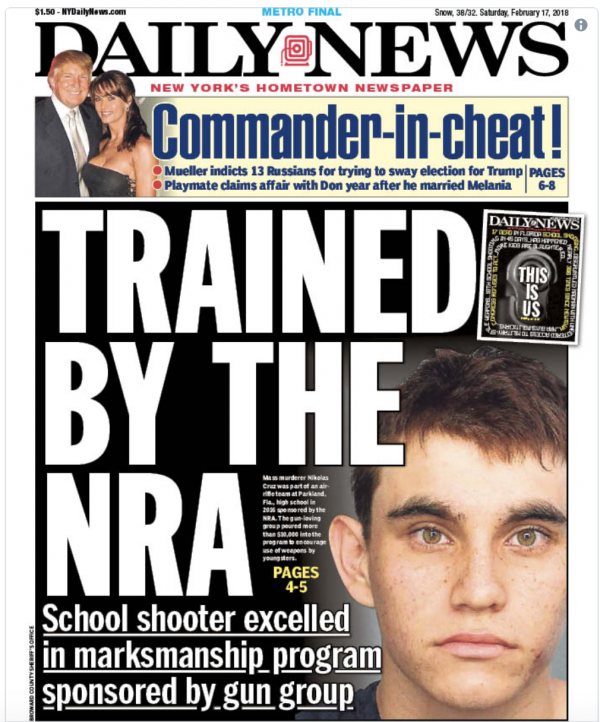 NRA 'Trained' Florida School Shooter?  No — But Don't Tell Mainstream Media That