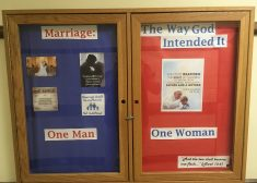 Bulletin Board Photo — Pro-Marriage — Providence College — Saved Thursday 3-22-2018