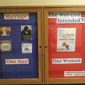 Pro-Marriage Bulletin Posting Triggers Providence College Students
