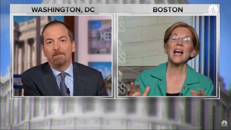 Warren: 'I'm not running for president'