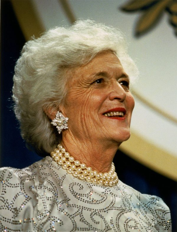 Barbara Bush Photo — Wikipedia — Saved Tuesday 4-17-2018