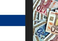 Finland Flag and Piles of Euros Photo Image — Created by Patrick J. McDonald — Saved Friday 5-11-2018