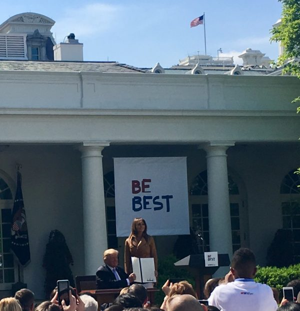 Helping Children 'Be Best' Is Melania Trump's Signature Initiative As First Lady