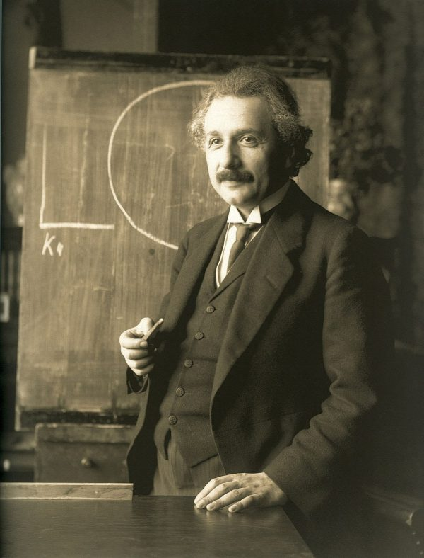 Albert Einstein Photo — 1921 — Saved Tuesday 6-5-2018