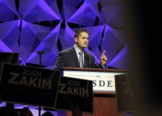 Josh Zakim at Massachusetts Democratic Convention Photo — State House News Service — Saved Sunday 6-3-2018