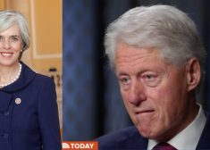 Katherine Clark and Bill Clinton Photo — Saved Wednesday 6-20-2018