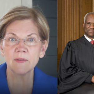 Elizabeth Warren Discovers She Agrees With Clarence Thomas
