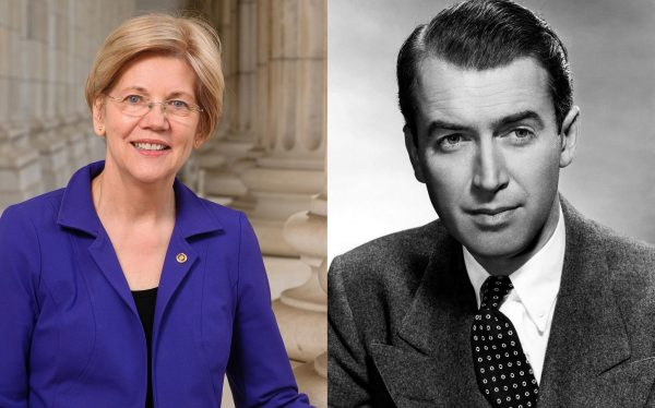 Elizabeth Warren and George Bailey Photo — Saved Tuesday 7-24-2018