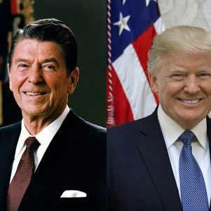 Echoes Of Reagan In Trump's Clashes With Allies
