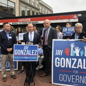 Jay Gonzalez:  Tax Harvard; Charlie Baker:  Bad Idea
