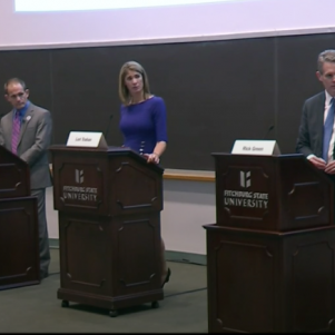 Green, Trahan Clash on College Costs, Immigration in Debate