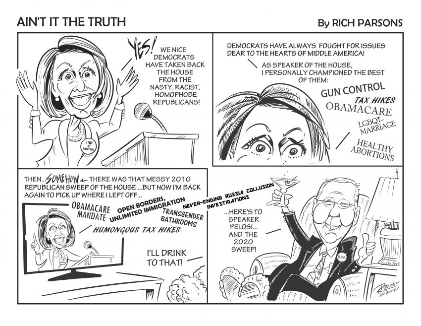 Nancy Pelosi Is The One For Me — Cartoon