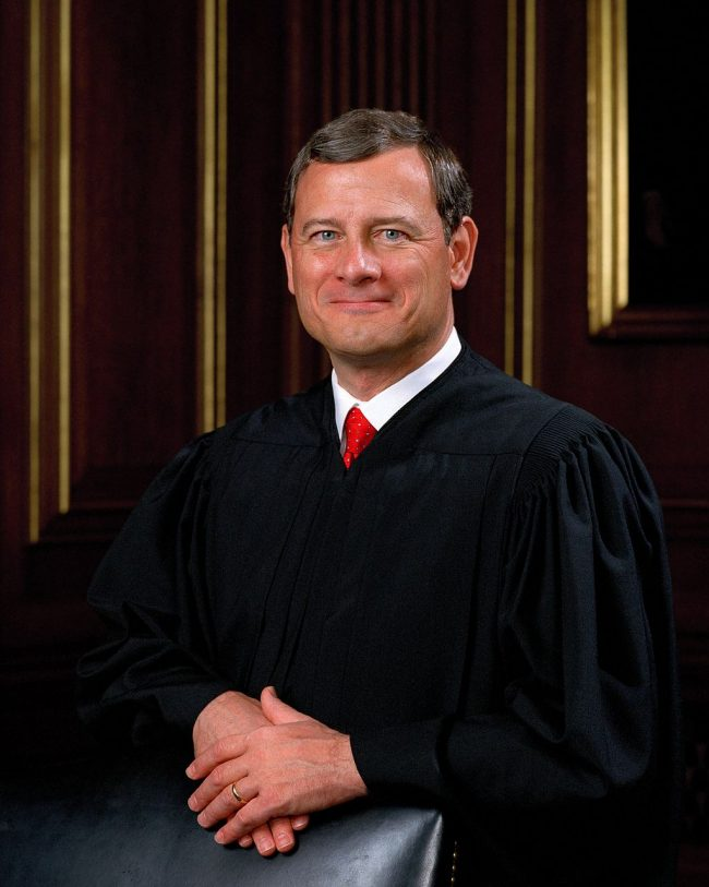 John Roberts Photo — Chief Justice of U.S. Supreme Court — Saved Tuesday 11-27-2018