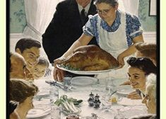 Norman Rockwell Thanksgiving Painting — Saved Thursday 11-22-2018