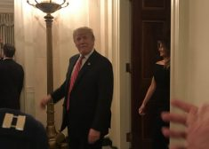 Hanukkah-With-The-Donald-Photo-1-Donald-Trump-Walking-In-Photo-by-Tom-Mountain-Saved-Wednesday-12-12-2018-e1544703423593