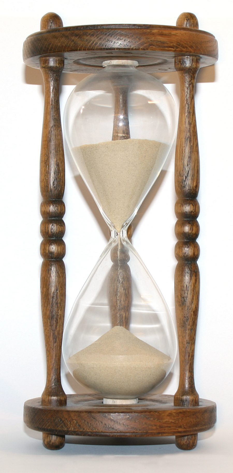 Hourglass Photo — Wooden — Photo by S. Sepp — Wikipedia — Saved Wednesday 12-5-2018