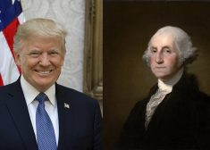 Donald Trump and George Washington Photo — Saved Tuesday 2-26-2019