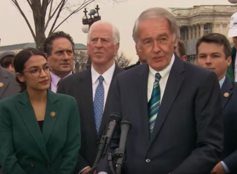 Ed Markey:  U.S. Senate Vote on Green New Deal Resolution 'Republican Trick'