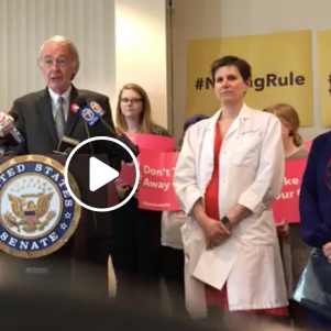 Markey Hits Trump Rule Aimed At Planned Parenthood; Catholic Group Calls Markey 'Professional Panderer'
