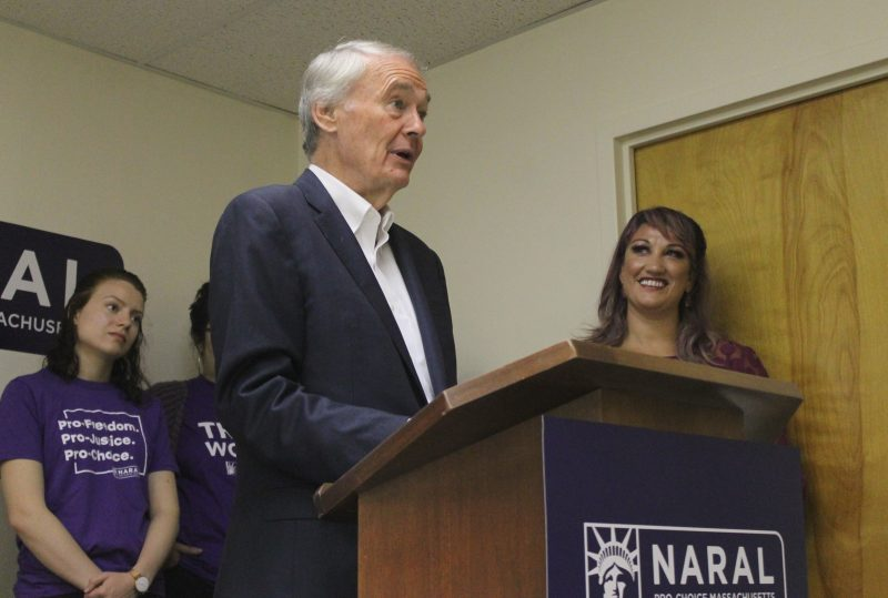 Markey Endorses ROE Act Bill, Accepts Early Endorsement from Pro-Abortion Group