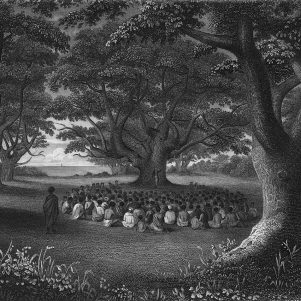 Hawaiians Journey to Park Street Church to Celebrate Commissioning of First Missionaries to Their Islands in 1819