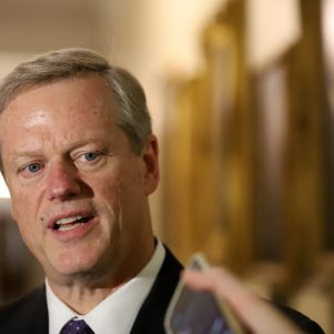 Governor Baker Against 'Big Increase' in Gas Tax As Part of Massachusetts Transportation Bill