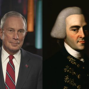 Bloomberg's Wealth, Like John Hancock's, Is Double-Edged Sword