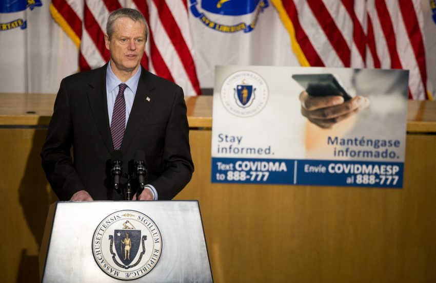 Governor Baker:  Where Is Your Common Sense? ... Pay Attention to the Facts About Covid-19