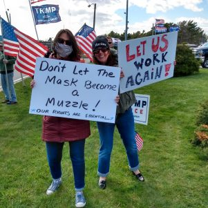 Time To Let Us Go, Governor, Cape Rally-Goers Say